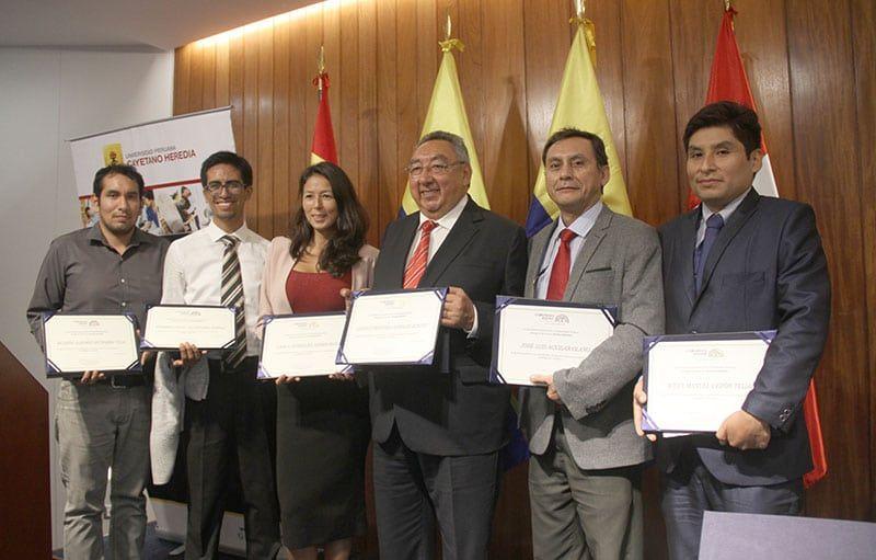 La CAN otorgó reconocimiento a 10 investigadores de la UPCH