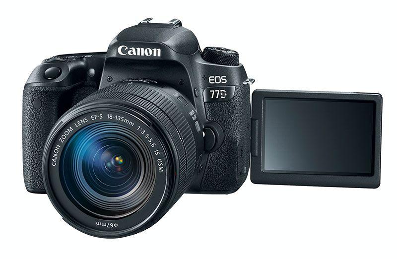 Nueva Canon EOS REBEL T7i y EOS 77D presentadas en Perú