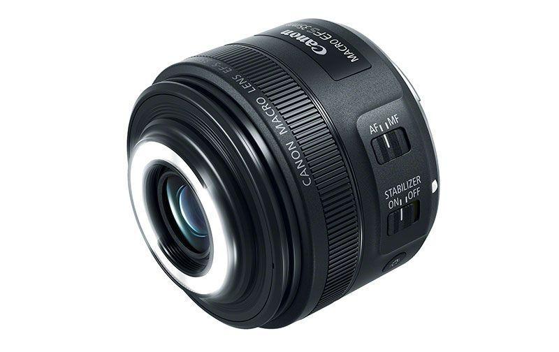 Nuevo lente Canon EF-S 35mm f/2.8 Macro IS STM