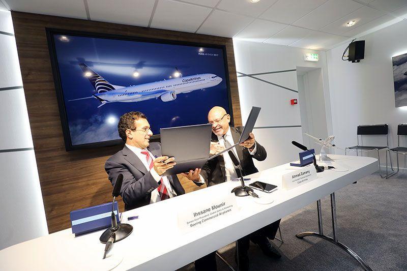 Copa Airlines y Boeing anuncian acuerdo por 15 aviones 737 MAX 10