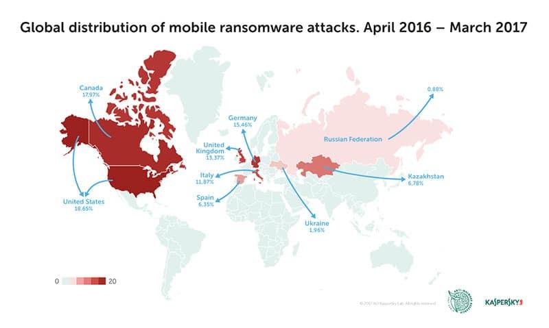 Ransomware móvil es una amenaza en evolución