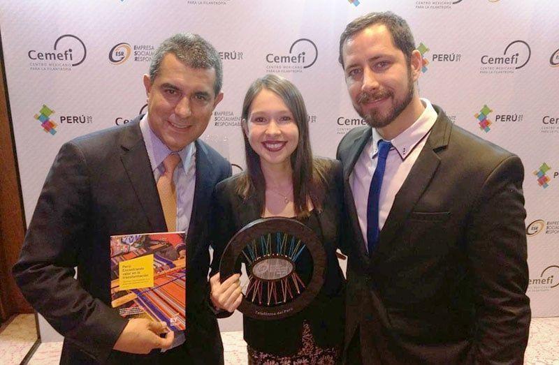 Telefónica Del Perú Reconocida Como «Empresa Socialmente Responsable»