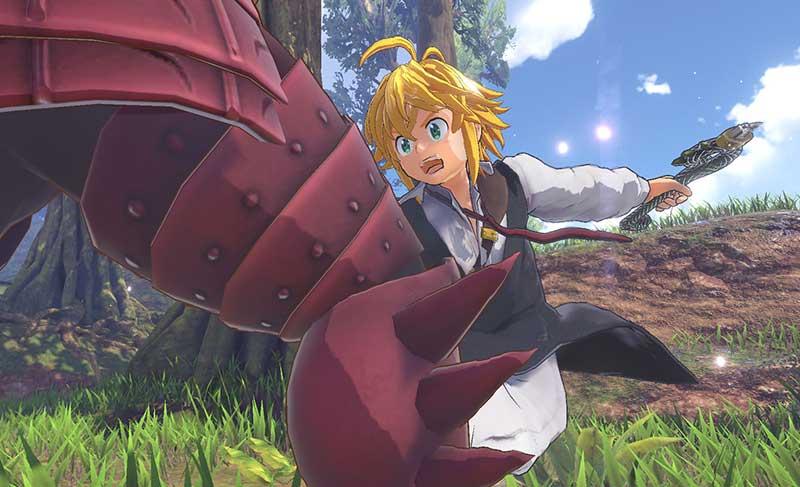 Anuncian The Seven Deadly Sins: Knights of Britannia para PlayStation 4
