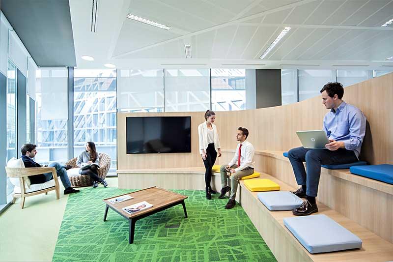 espacios digitales nuevo concepto de diseo para oficinas