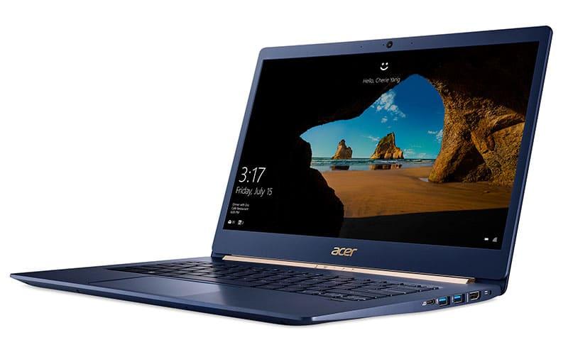 Acer lanza nuevos e increíbles dispositivos ultradelgados