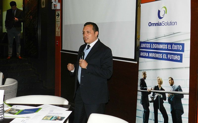 Exitoso after office de Omnia Solution y HPE