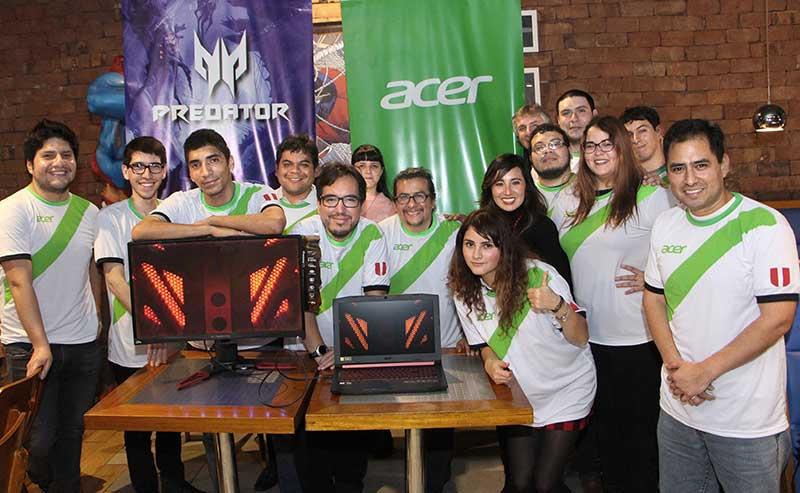 Acer apoya a la selección peruana