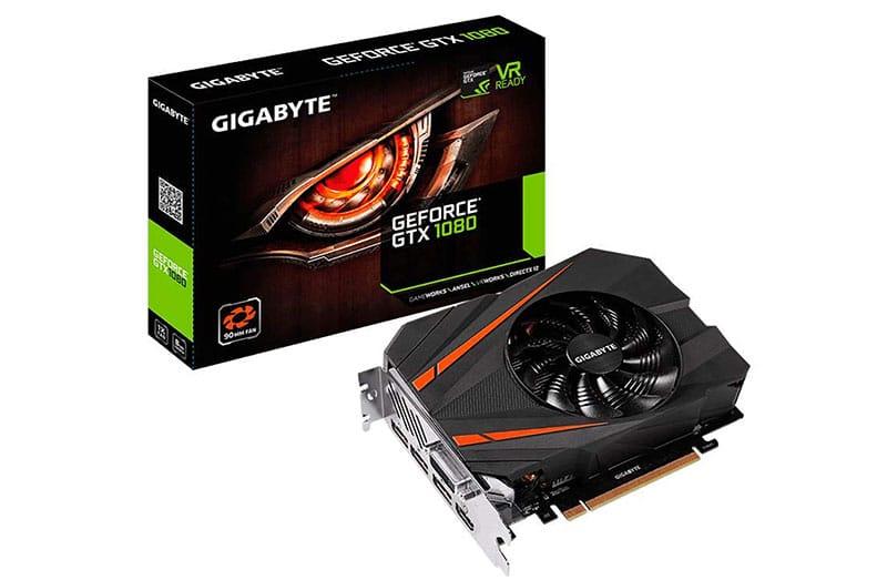 GIGABYTE presenta la tarjeta gráfica GeForce GTX 1080 Mini ITX 8G