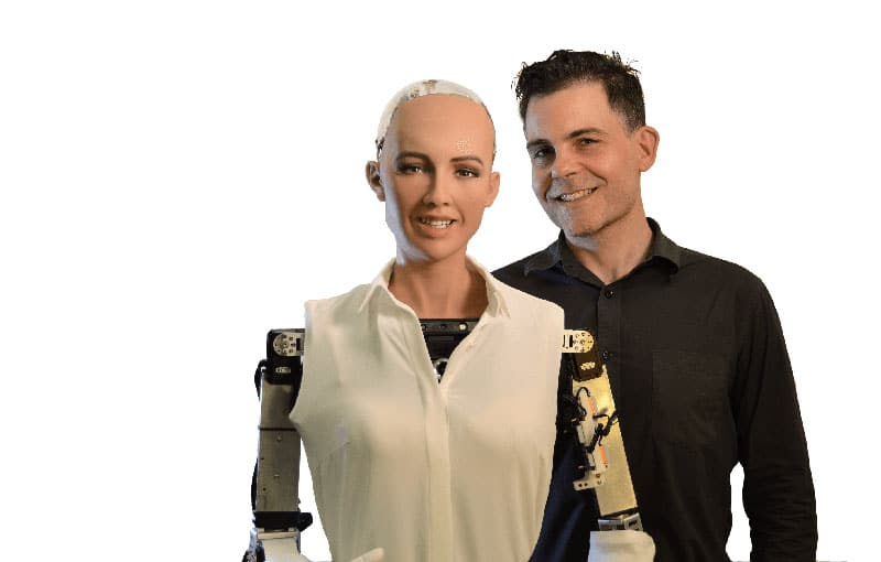 IBC2017 da la bienvenida a los Robots Más Humanos del Mundo