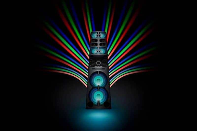 MUTEKI V90 de Sony llevará las fiestas a una nueva dimensión