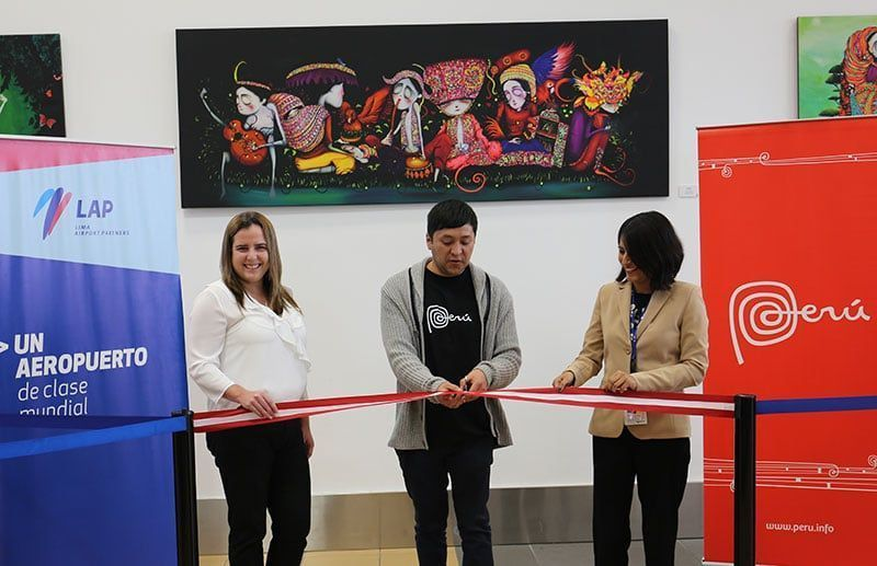 Marca Perú y Lima Airport Partners inauguraron Muestra de Arte