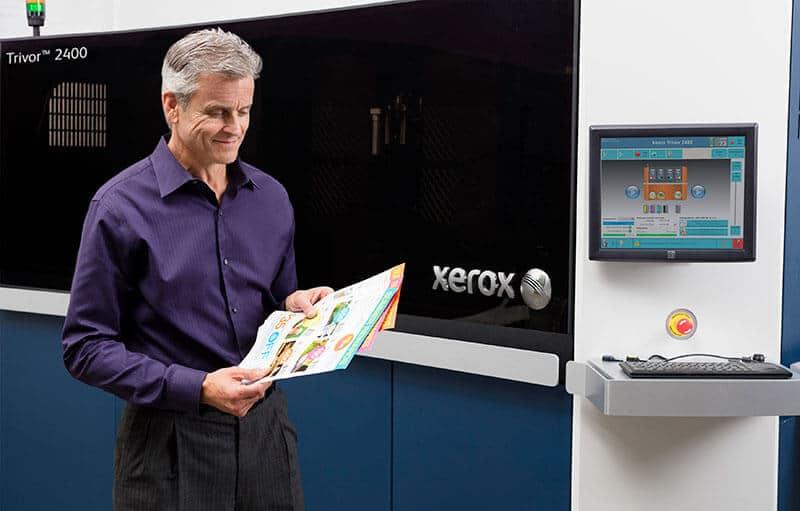 Nueva Xerox Trivor® 2400 High Fusion Inkjet Press