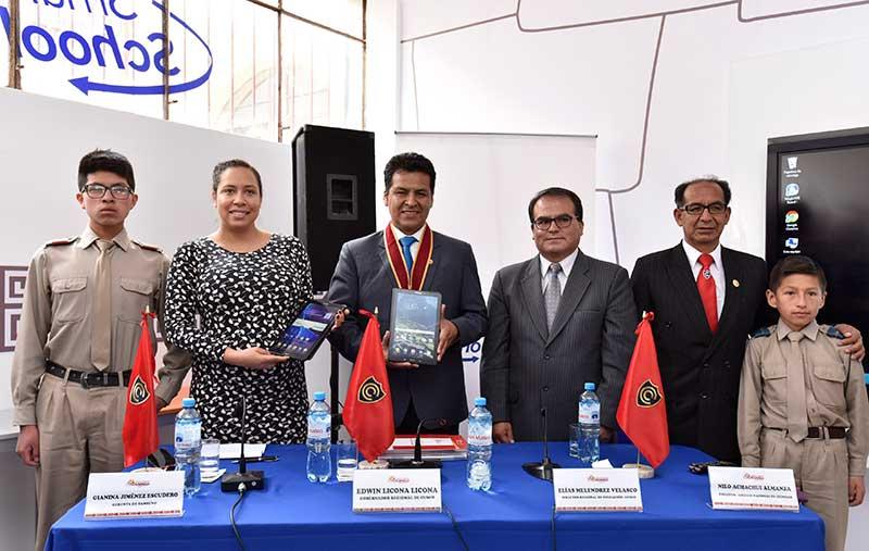 Samsung y el Gobierno Regional de Cusco se unen