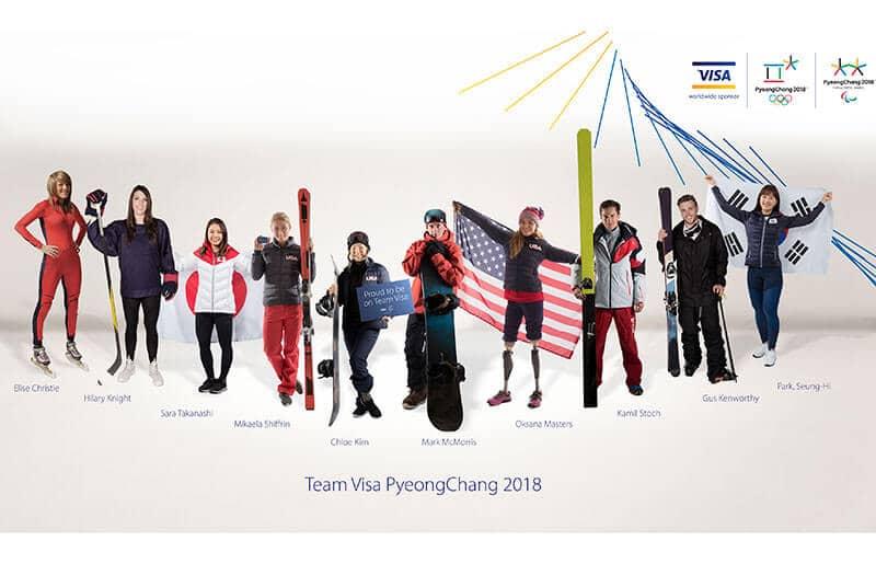 Visa Anuncia Alineación para Próximos Juegos Olímpicos y Paralímpicos
