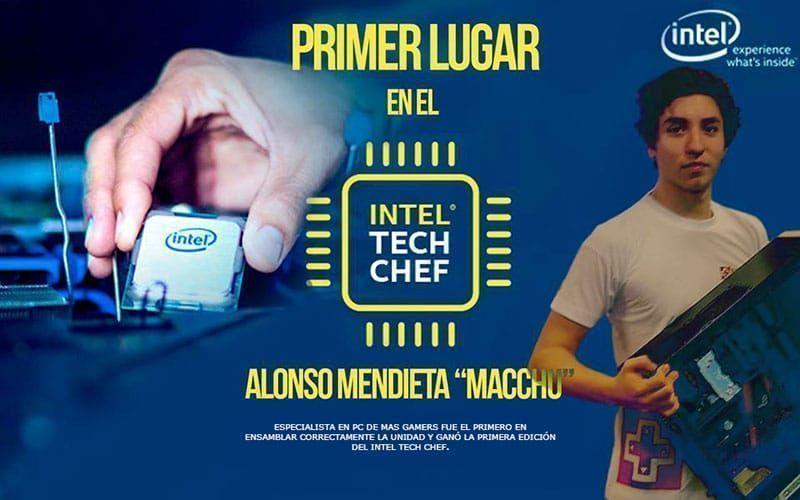 Peruano ganó la primera edición del Intel Tech Chef