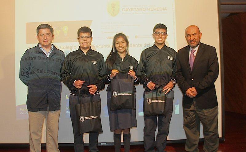 UPCH Premió a Escolares Ganadores del Concurso Proyecto Play