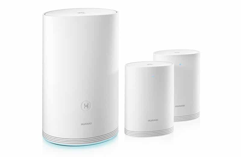 Huawei presenta solución WiFi Q2 en CES 2018