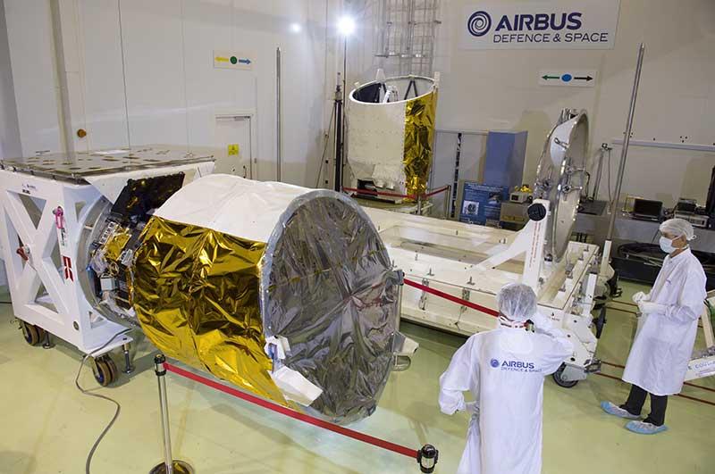 Aeolus de Airbus superó todas las pruebas en Lieja