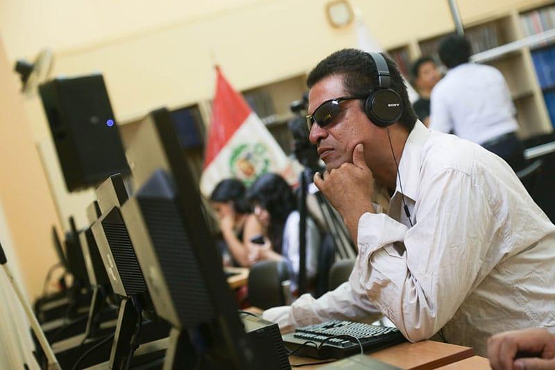 BNP adquiere modernos equipos Tiflotecnológicos