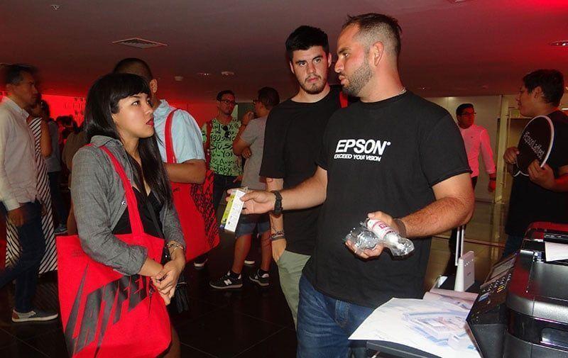 Epson presentó sus soluciones tecnológicas en el LADFEST