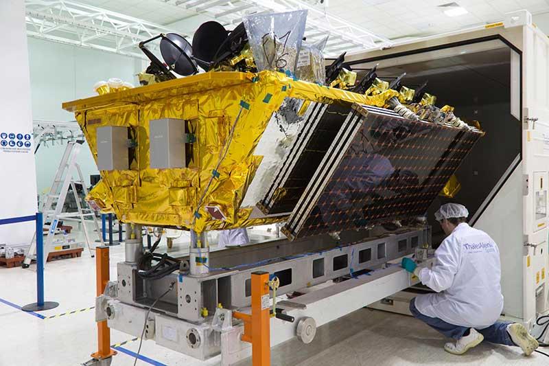 Exitoso lanzamiento de cuatro satélites O3b