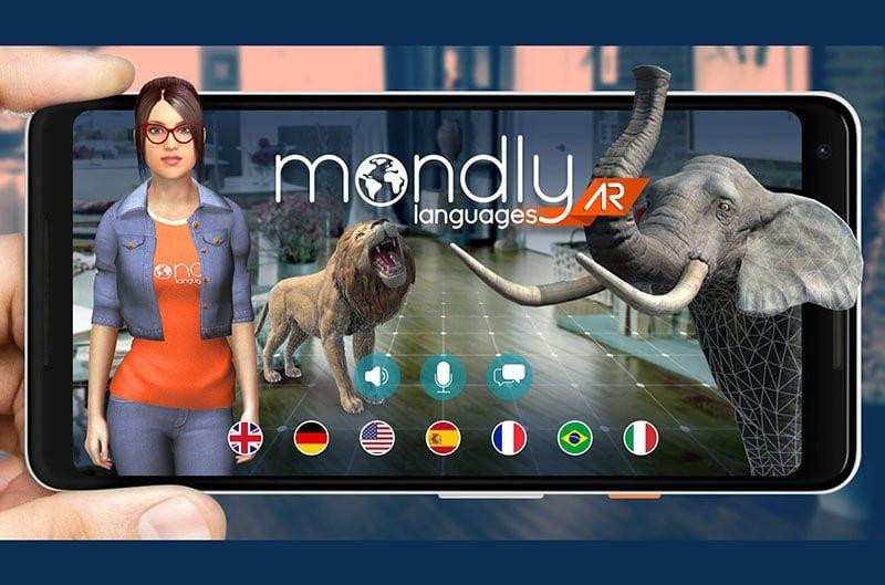 Mondly lleva el aprendizaje a la vida por medio de la realidad aumentada