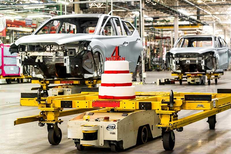 La fábrica de Nissan en Resende cumple 4 años