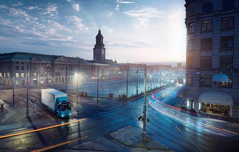 Volvo Trucks presenta su primer camión totalmente eléctrico