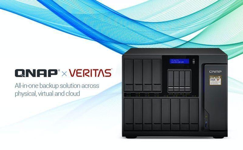 NAS para empresas QNAP compatible con Veritas Backup Exec