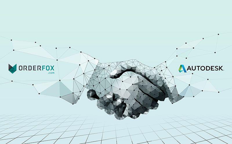 ORDERFOX.com y Autodesk anuncian alianza estratégica