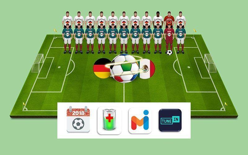 Las mejores apps para que no te pierdas ningún detalle del Mundial