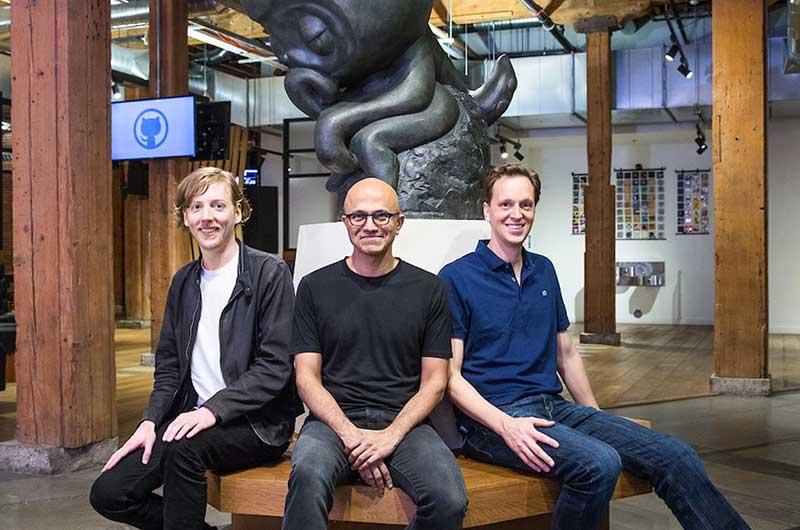 Microsoft adquirirá a GitHub