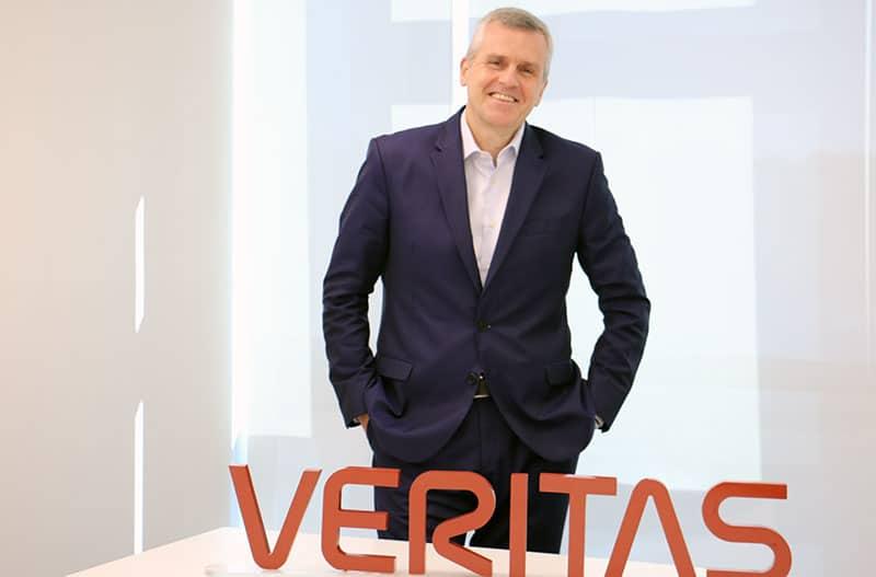 Veritas designa a Pedro Saenger como Vicepresidente Regional