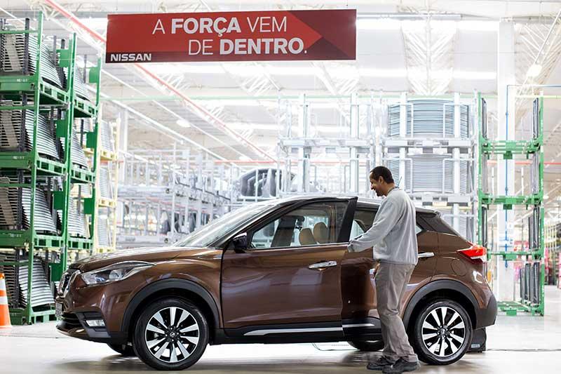 El Nissan Kicks gana vida en Resende