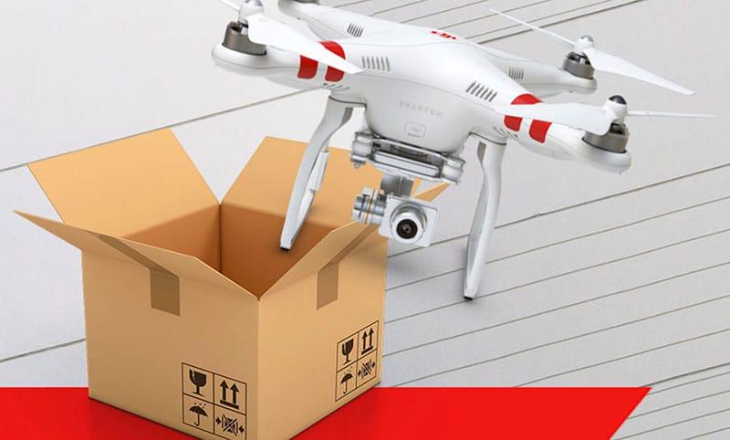 Europeos están listos para despegue de los drones a domicilio