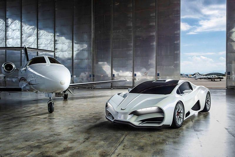 MILAN Automotive GmbH lanza el hiper auto MILAN RED