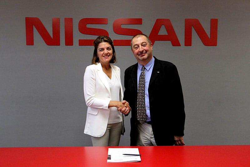 Nissan firma convenio marco con la Universidad Politécnica de Cataluña