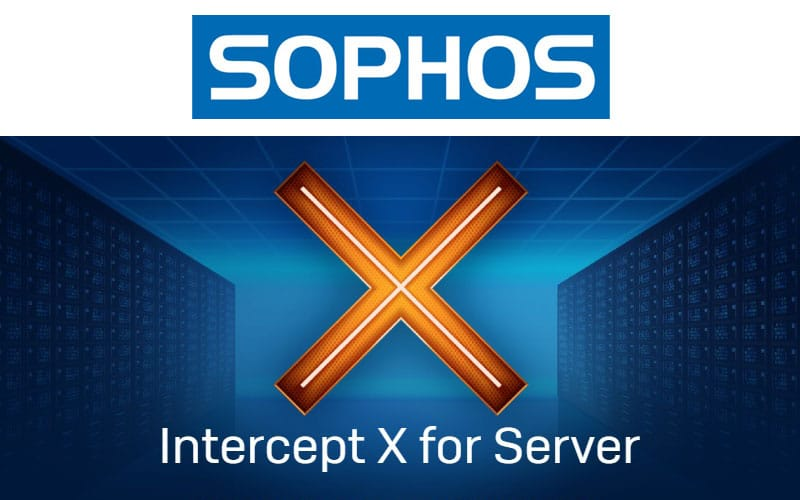 Nuevo INTERCEPT X FOR SERVER de SOPHOS