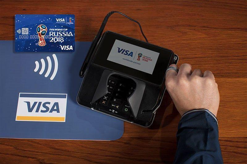 Visa innovó los pagos en el Mundial de Rusia 2018