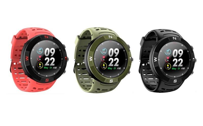 Adquiera hoy su entrenador personal F18 GPS Sports Smartwatch