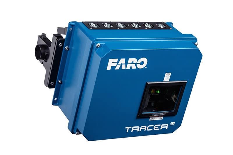 FARO presenta TracerSI para la proyección e inspección