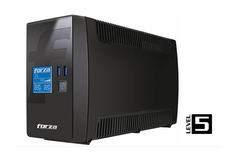 FORZA presenta en Perú su UPS RT-602 LCD