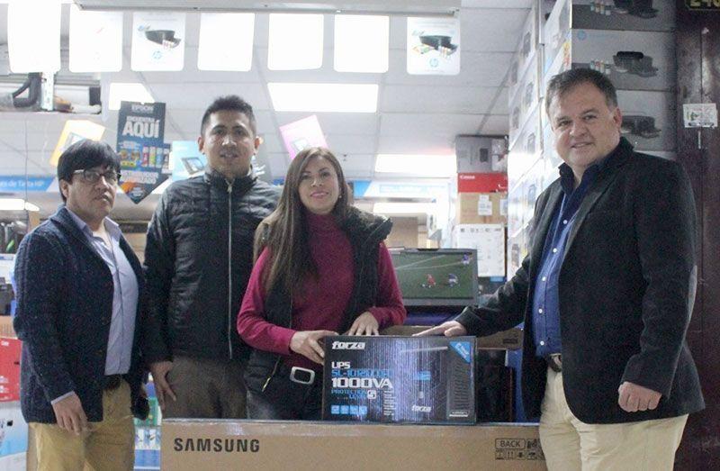 PC LINK y FORZA premian a SUPERTEC