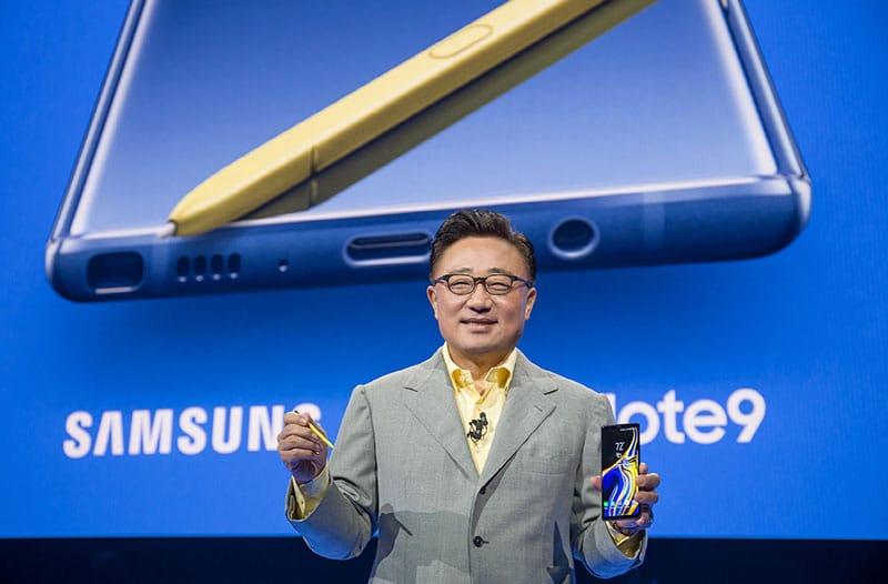Presentan al nuevo y súper poderoso Galaxy Note9