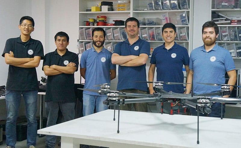 Wayra Perú acelerará a la startup Robotic Air Systems