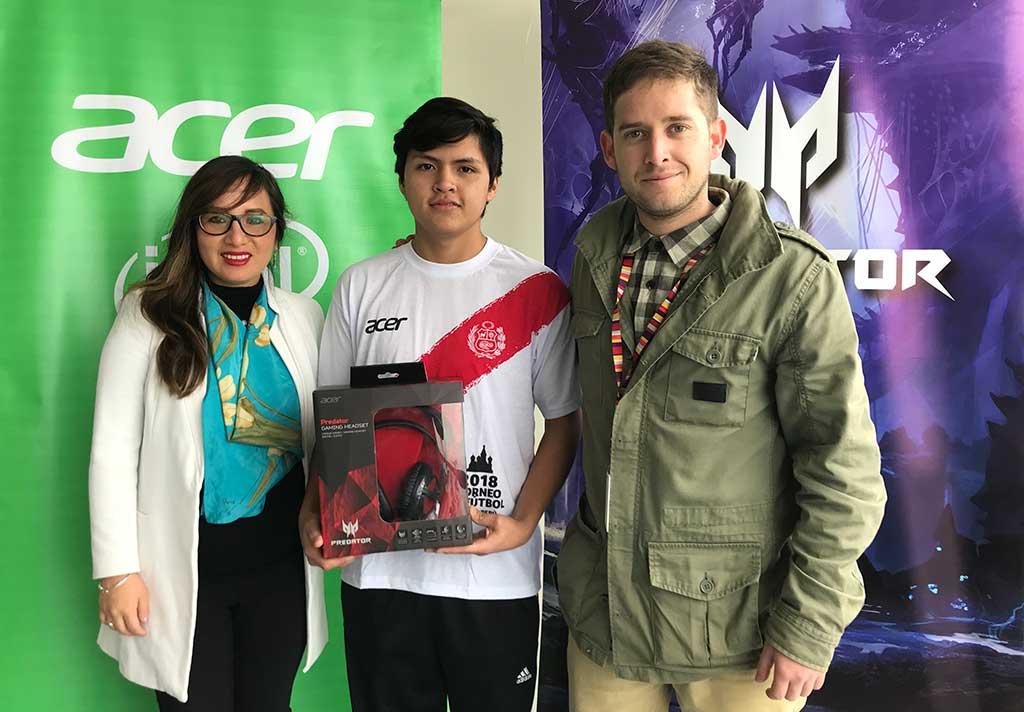 Acer y Ripley premian a los mejores equipos peruanos de Dota 2