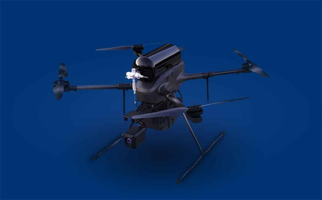 BSHARK presenta el dron de hidrógeno Narwhal 2