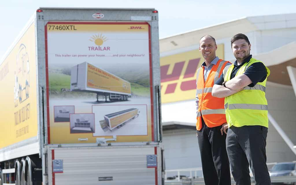 Deutsche Post DHL Group recarga sus camiones con energía solar