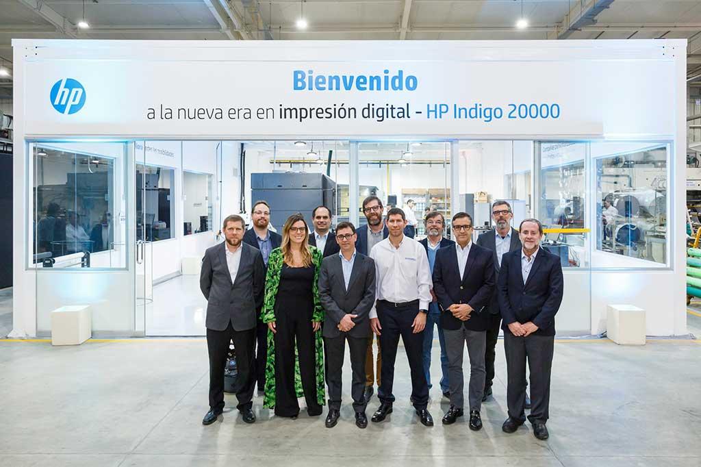 Prensa digital HP Indigo 20000 llegó al Perú