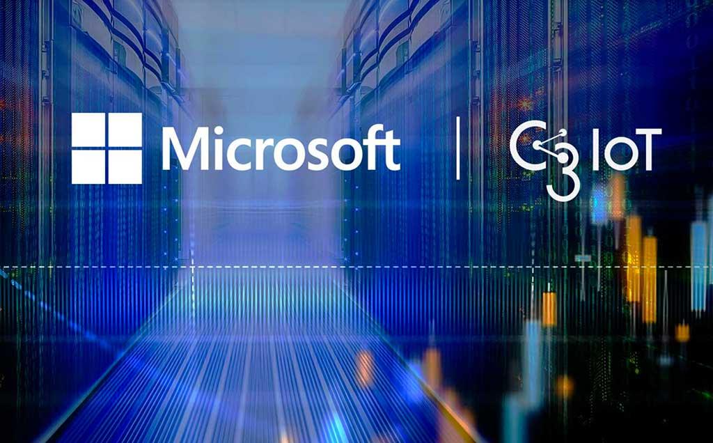 Shell selecciona C3 IoT con Microsoft Azure
